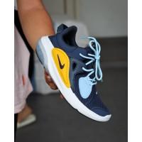 Sepatu Nike run joy ride navy Sneakers biru dongker sport running lari