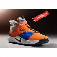 ORIGINAL Sepatu NIKE PG3 Paul George NASA Orange Blue BNIB New