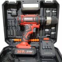 cordless drill impact 36V // bor baterai 36V