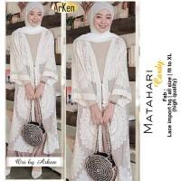 Baju Terusan Wanita Muslim Longdress Matahari Cardy Maxy Arken