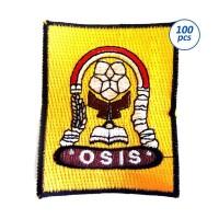 Emblem Bordir Logo Bed Osis SD,SMP,SMA Murah Berkualitas