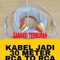 Kabel CCTV Video+ Audio+Power, 30 Meter