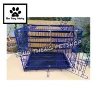 Kandang Kucing Anjing  KANDANG KOPER JUMBO TINGKAT XL 60x46x50cm