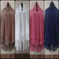 Hijab Murah Syari Cerruty Baby 2 Layer Jumbo Halus Premium Product