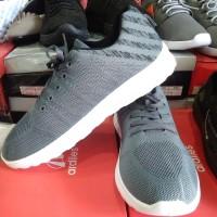 Sepatu sneakers pria merk Neo Adidas