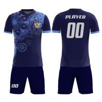 Kaos Baju Jersey Futsal Bola Setelan Celana Motif Batik KLB78 Dry Fit