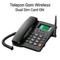 Telepon Gsm Rumah - Telepon Gsm Kantor - Fwp Gsm Dual Sim Card -