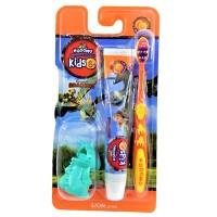 Kodomo Toothpaste &Toothbrush Kids 6+ Orange Mint [Random]