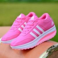 Sepatu Wanita Adidas SDS275 Abu - Pink Fanta