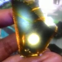 Natural Rough Bahan Fire Opal Wonogiri hitam kristal ajip collector