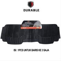 DURABLE Karpet PVC Khusus Bangku Ke 3 For Wuling Cortez MBL2