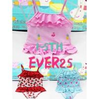 baju renang anak bayi import lucu murah 1-5 tahun swimwear baby - ice cream, 1.5th-3th