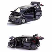 mainan mobil alphard diecast untuk koleksi
