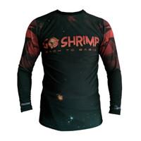 Rushgard Rashguard Longsleeve - Shrimp - Baselayer Compression