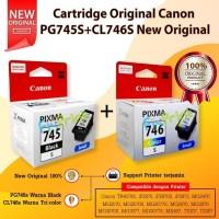 Cartridge Tinta Canon PG-745S CL-746S (1SET) New Original- Black Color