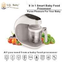 I.Q. BABY 9in1 Food Processor, Chopper, Steamer, Sterilizer Warmer