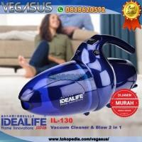 IDEALIFE Vacuum Cleaner & Blower Penyedot Debu Mini Hand Vacum IL-130