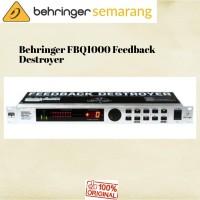 Behringer FBQ1000 FBQ-1000 FBQ 1000 Anti Feedback Destroyer