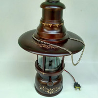 lampu petromak lampu hias lampu gantung dari kayu jati