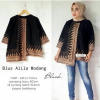 3 WARNA - Blouse batik/Baju Batik Wanita/Blus Batik/Baju Kantor BL 02