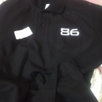 tshirt baju Kaos Kerah 86 POLISI - HIGH QUALITY