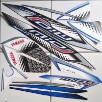 stiker striping Yamaha Mio j sporty 2013 biru