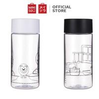 Miniso official botol minum Plastic Water Bottle 290ml