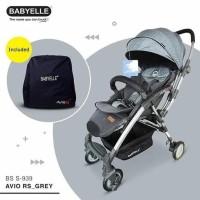 KERETA DORONG BAYI STROLLER BABYELLE / BABY ELLE 939 AVIO RS - BIRU