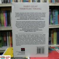 Promo Buku Habis Gelap Terbitlah Terang R A Kartini Ori