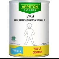 Appeton Nutrion WG Rasa Vanilla Susu untuk Menambah Berat Badan Apeton