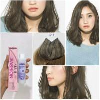 Loreal Maji Fashion 12.7 Mint Silver Light Brown Ash Hair Cat Rambut
