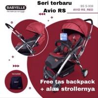 Stroller kereta dorong bayi babyelle baby elle 939 Avio RS new desig