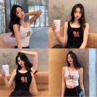 SH [Bayar Di Tempat]Xiaozhainv tank top tanktop wanita t shirt