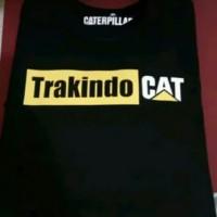 kaos distro cowok cewek tshirt t shirt Trakindo Caterpillar