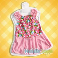 dress anak perempuan / baju bayi / dress harian 1 - 2 tahun