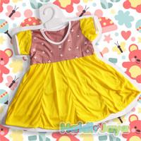 dress anak perempuan / baju harian / dress lengan pendek / dress murah
