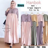 Hanbok Dress maxy gamis baju muslim wanita long dress baju adat korea