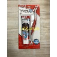 Beaphar Toothbrush&Toothpaste Dog 100gr Sikat gigi dan Pasta gigi Anji