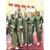Termurah Batik Tunik Motif Songket Palembqng Couple