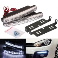 Lampu LED Mobil FOG & Daylight 2pcs/set plus bracket - AKSESORIS MOBIL