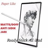 iPad Pro 10.5 11 Paperlike Anti Sidik Jari Gores Sreen Guard Antigores