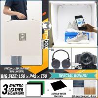 Mini Photo Studio Box - Light Room Portable - Foto Product (LARGE)