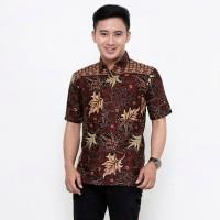 Baju Batik pria - Kemeja Batik Pria - Baju Batik Cowok Lengan Pendek