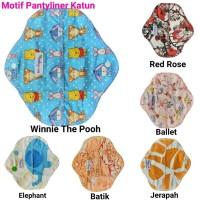 Baby-oz menspad Panty Katun /Pantyliner Katun Baby-oz/Pembalut Kain