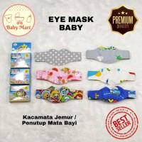 Baby Flow Eye Mask / Penutup Mata Bayi / Kacamata Jemur Bayi