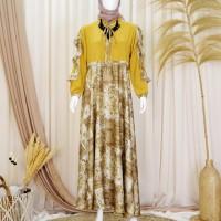 Baju Muslin Gamis wanita by Naura