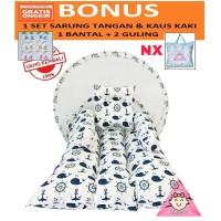 kasur bayi kelambu karakter anak while white / tempat tidur bayi murah