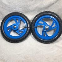 Ban Mati Rims - Velg 12 Plastik PVC Ban Busa Taiwan Sepeda Anak - Push