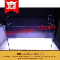 Replika Gex Glassterior 600 Aquascape Aquarium Kaca 60 x 30 x 40 60cm