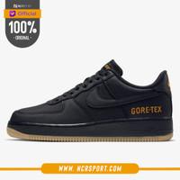 Sepatu Sneakers Nike Wmns Air Force 1 GORE-TEX Black Original CK2630-0